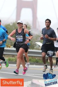 The SF Marathon - A beautiful course. Doing what I love most!