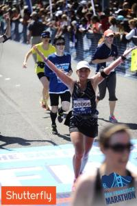 Finishing my 9th Full Marathon on my 45th Birthday.  The San Francisco Marathon, 2014